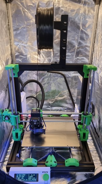 Caribou Mk3S / Duet 2 Wifi 3D Drucker