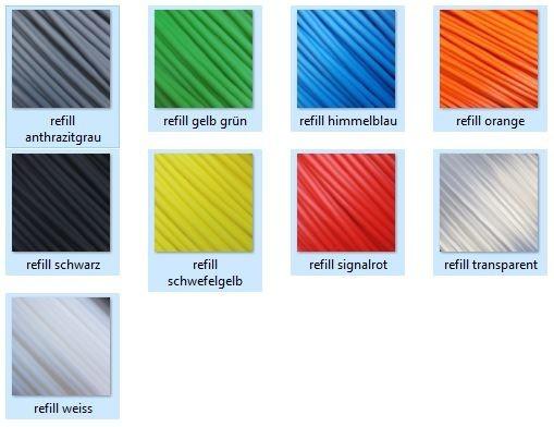 PLA 1,75mm Procatec Refill Filament 800g