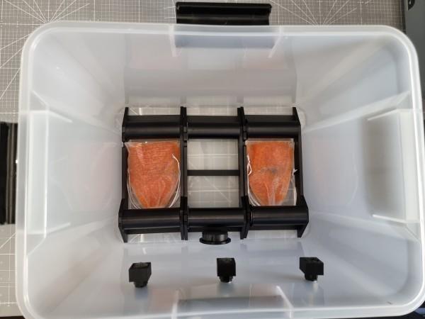 Filament Trocken Box mit 3x Abroller und Anzeige